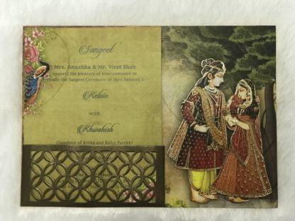 PREMIUM LASER CUT FRAME WEDDING CARDS
