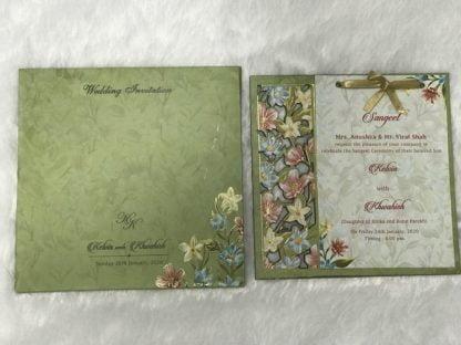 FLORAL LASER CUT FRAME CARDS