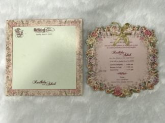 LASER CUT FRAME WEDDING CARDS