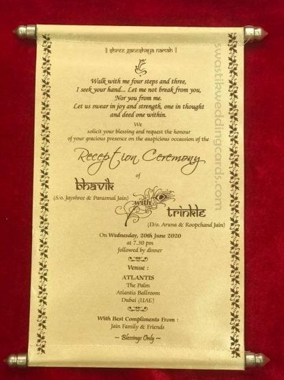 Designer Wedding Invitation Cards